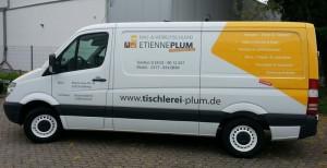 Schreinerei Etienne Plum Transporter Stolberg