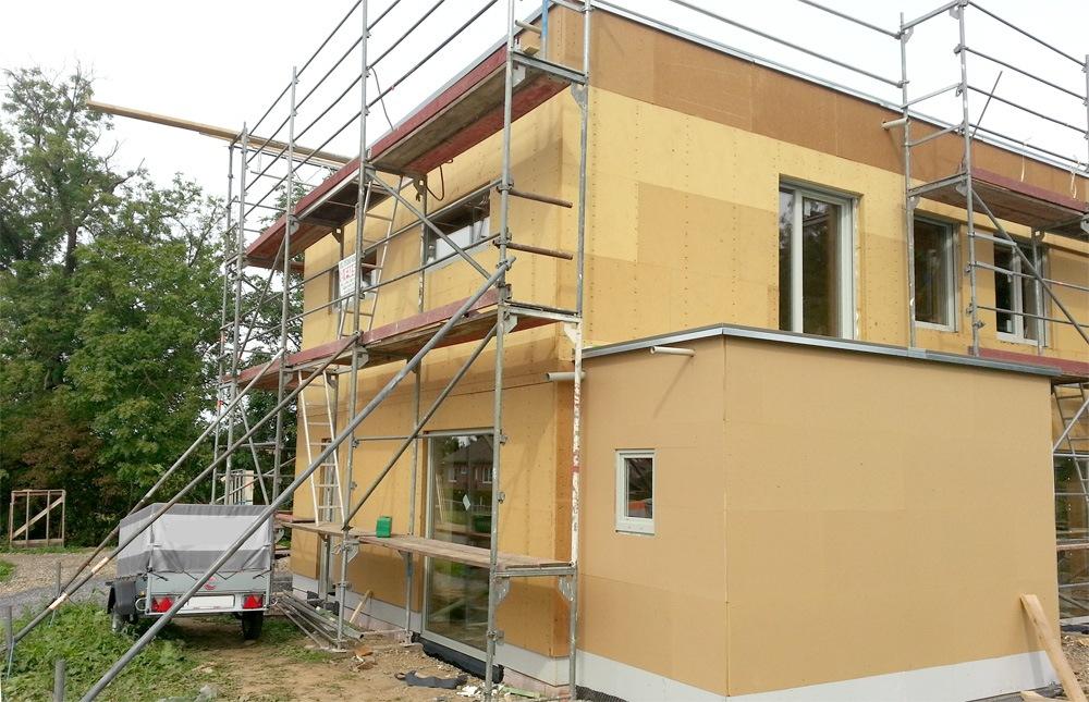 Fenster Lieferung und Montage Niedrigenergiehaus