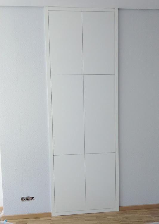 nischen einbauschrank in wei die tischlerei etienne plum aus stolberg bei aachen. Black Bedroom Furniture Sets. Home Design Ideas