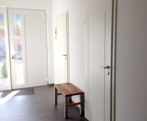 Einfamilienhaus Zimmertüren Montage