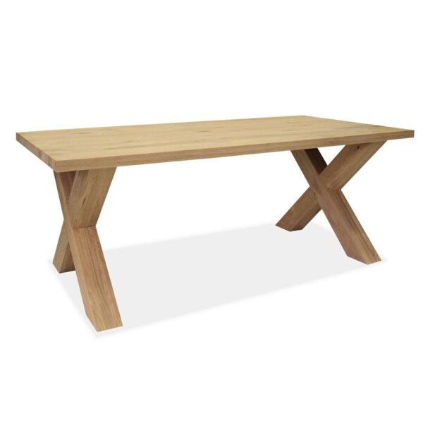 Esstisch Eiche Gestell X-Holz Modell Schweden