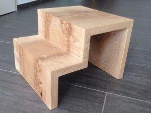 Holz-Tritt alternative zu Plastik