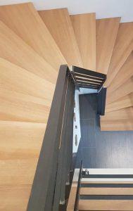 Treppenstufen Holz Wange Weiß